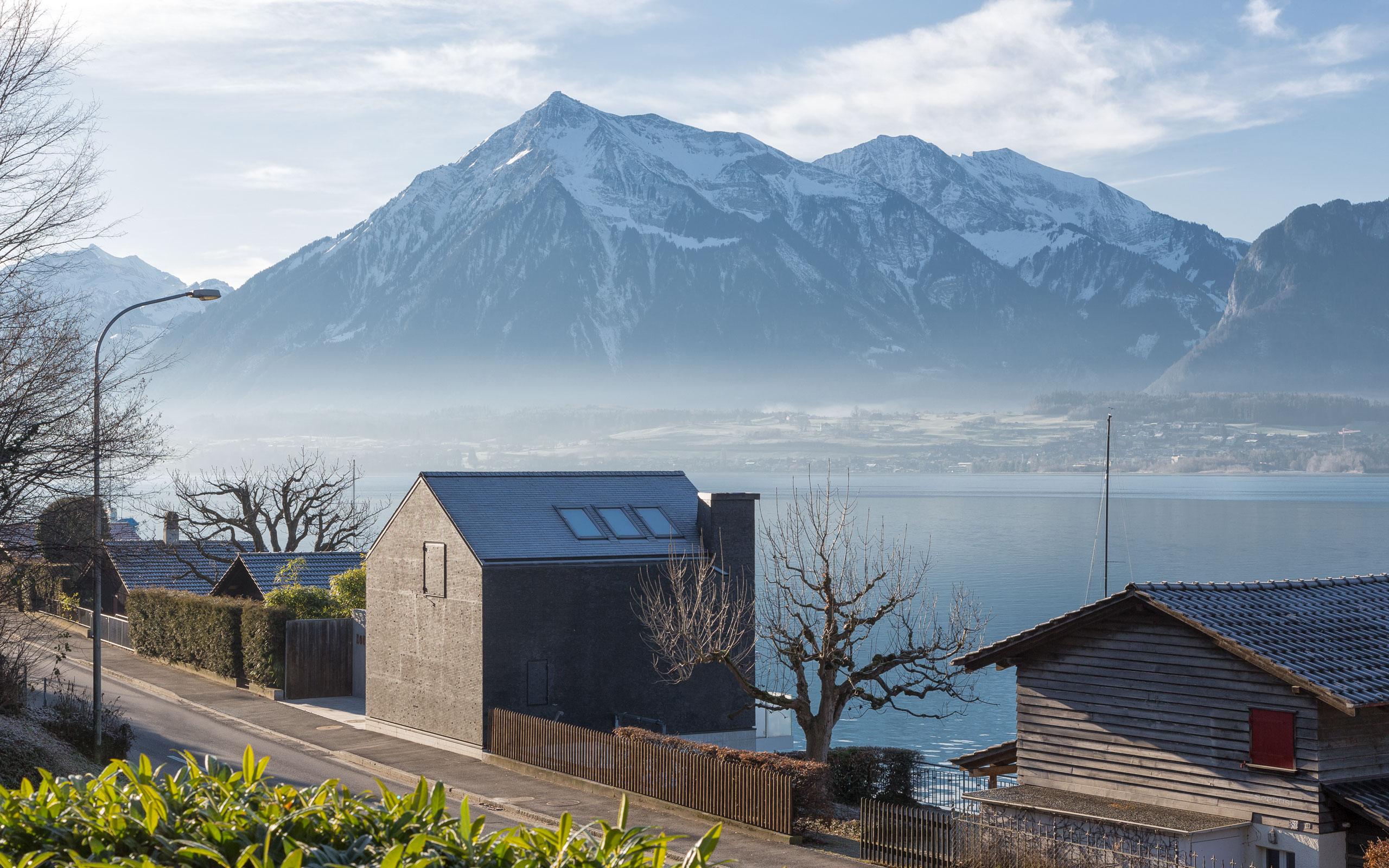 Architektur tzarch.ch, Bootshaus_Huenibach