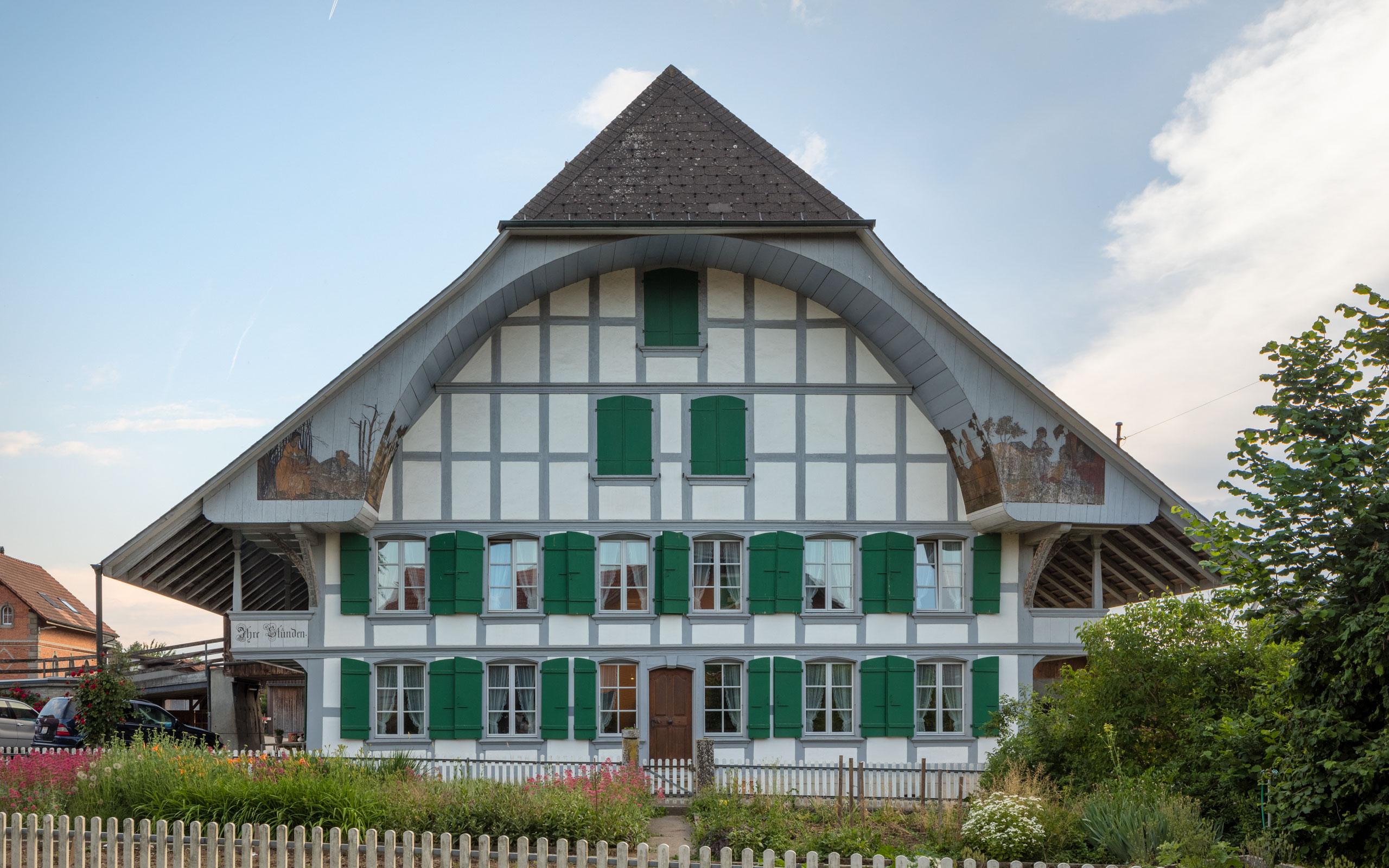 Kant. Denkmalpflege, Bern, Buehl, Zaelgli