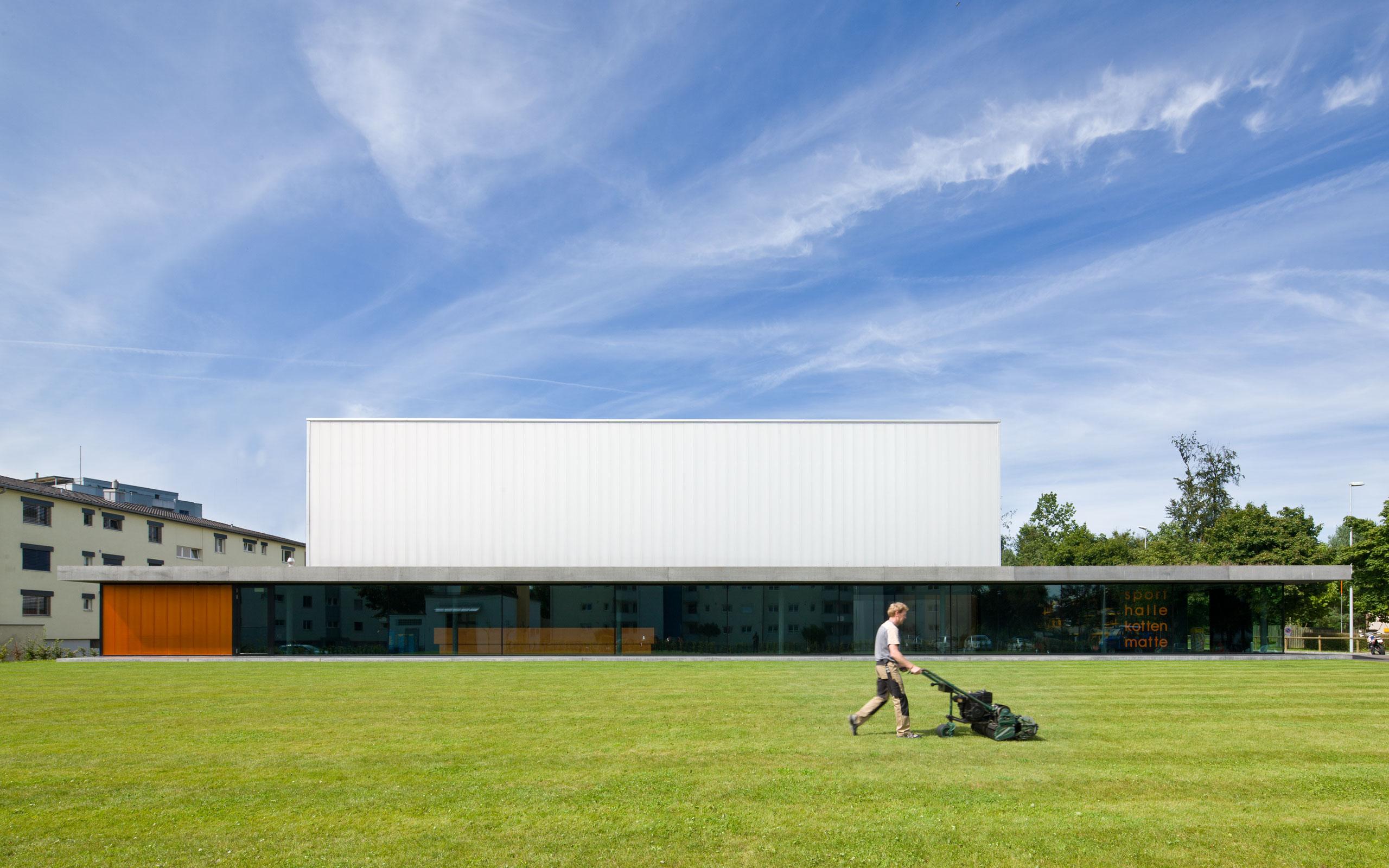 Architektur: Müller Verdan, Zürich, Kottenmatte Sursee