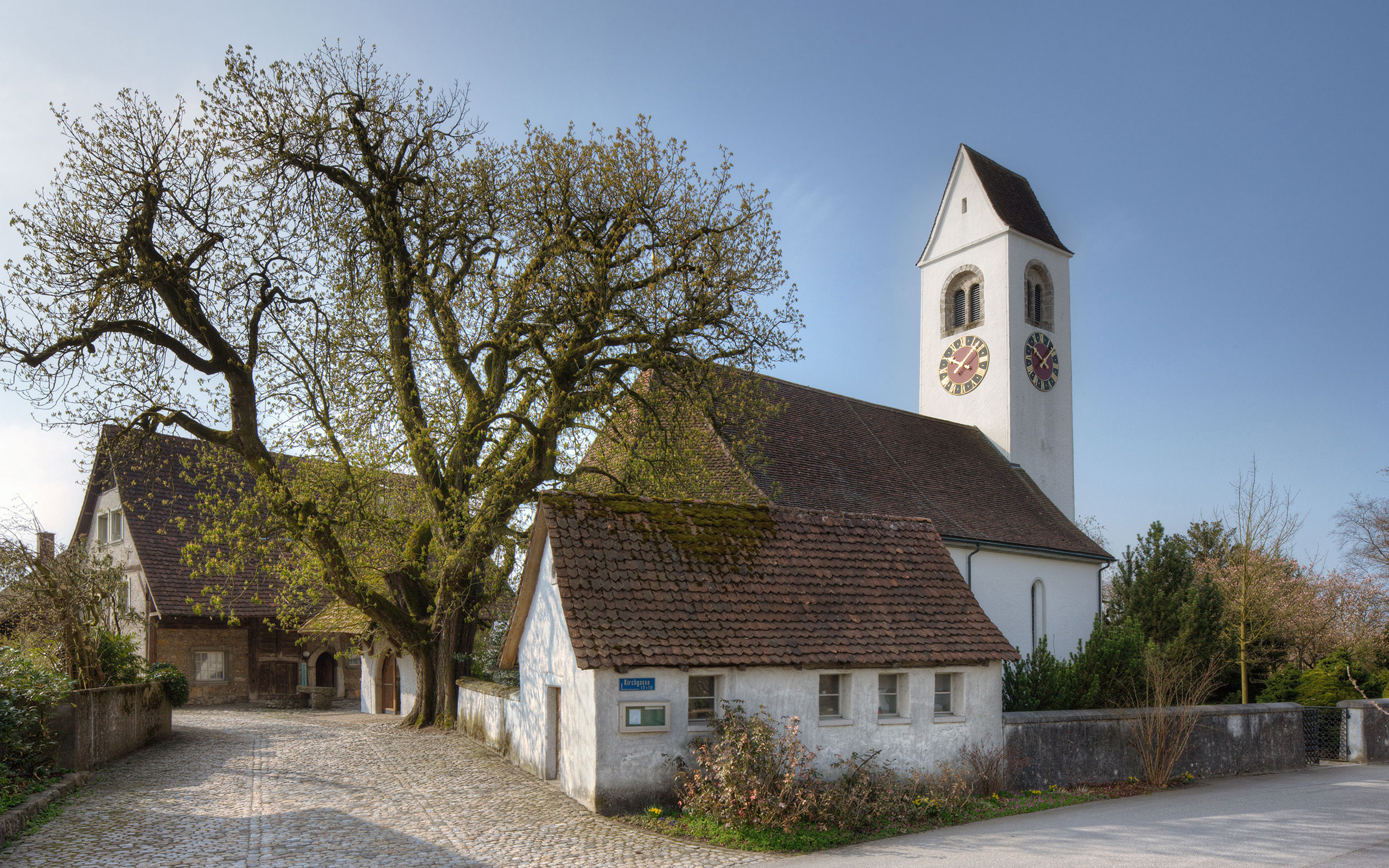 Kant. Denkmalpflege, Bern, Kirche Niederbipp