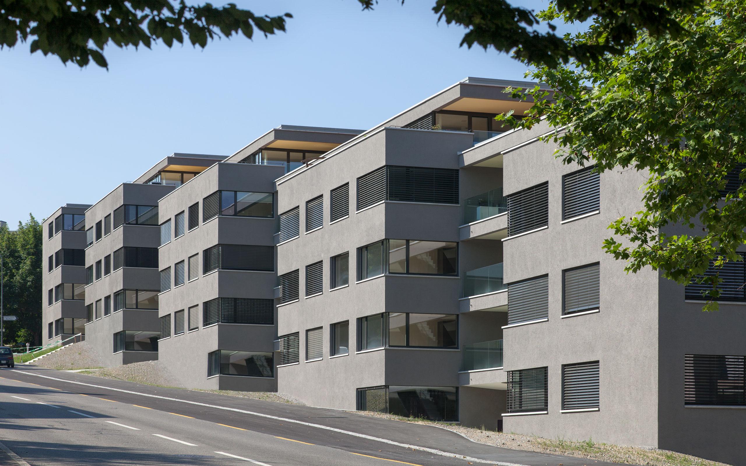 Architektur: Aebi & Vincent, Bern, Hertenbrünnen, Schliern