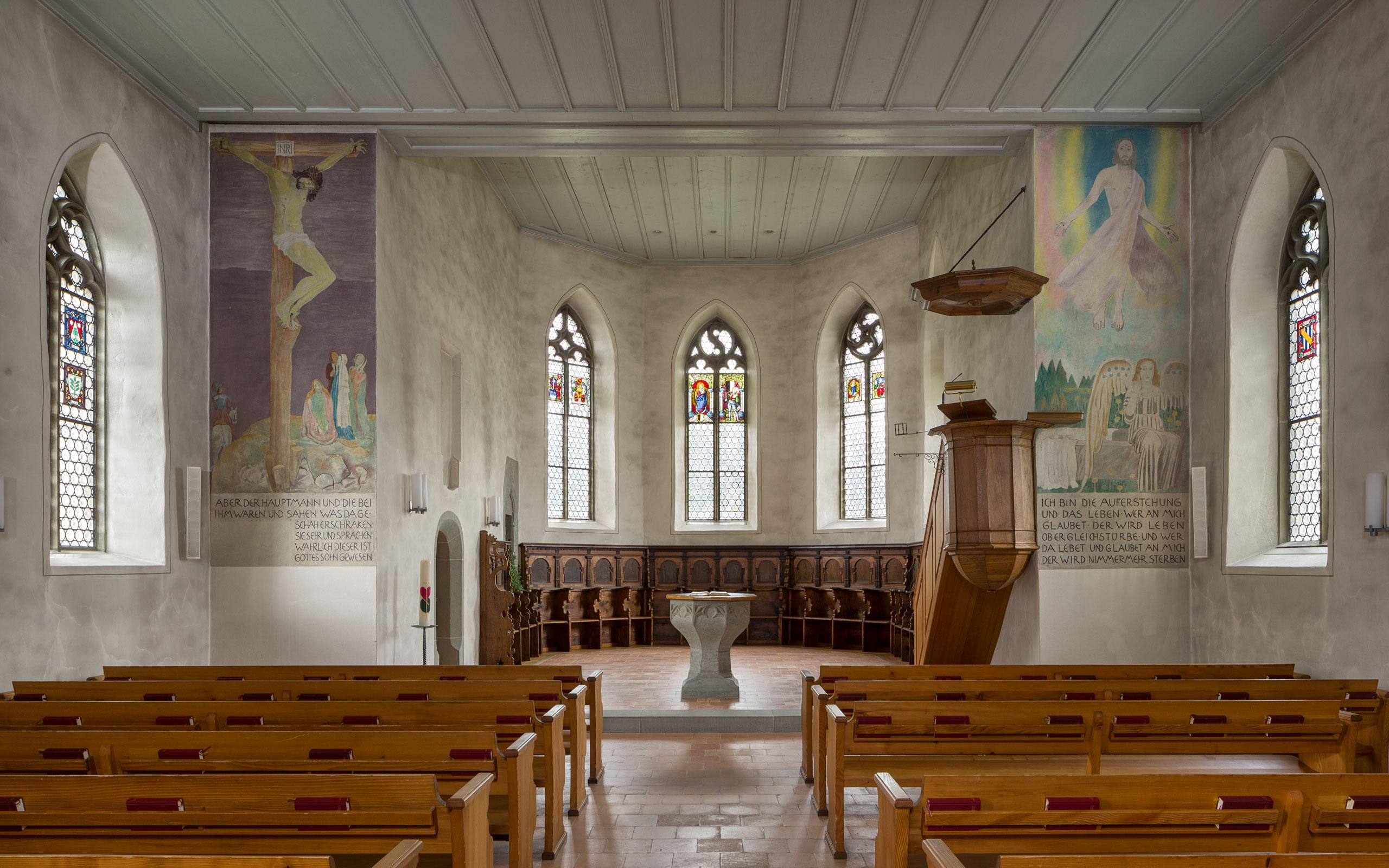 Kant. Denkmalpflege, Bern, Seeberg_Kirche