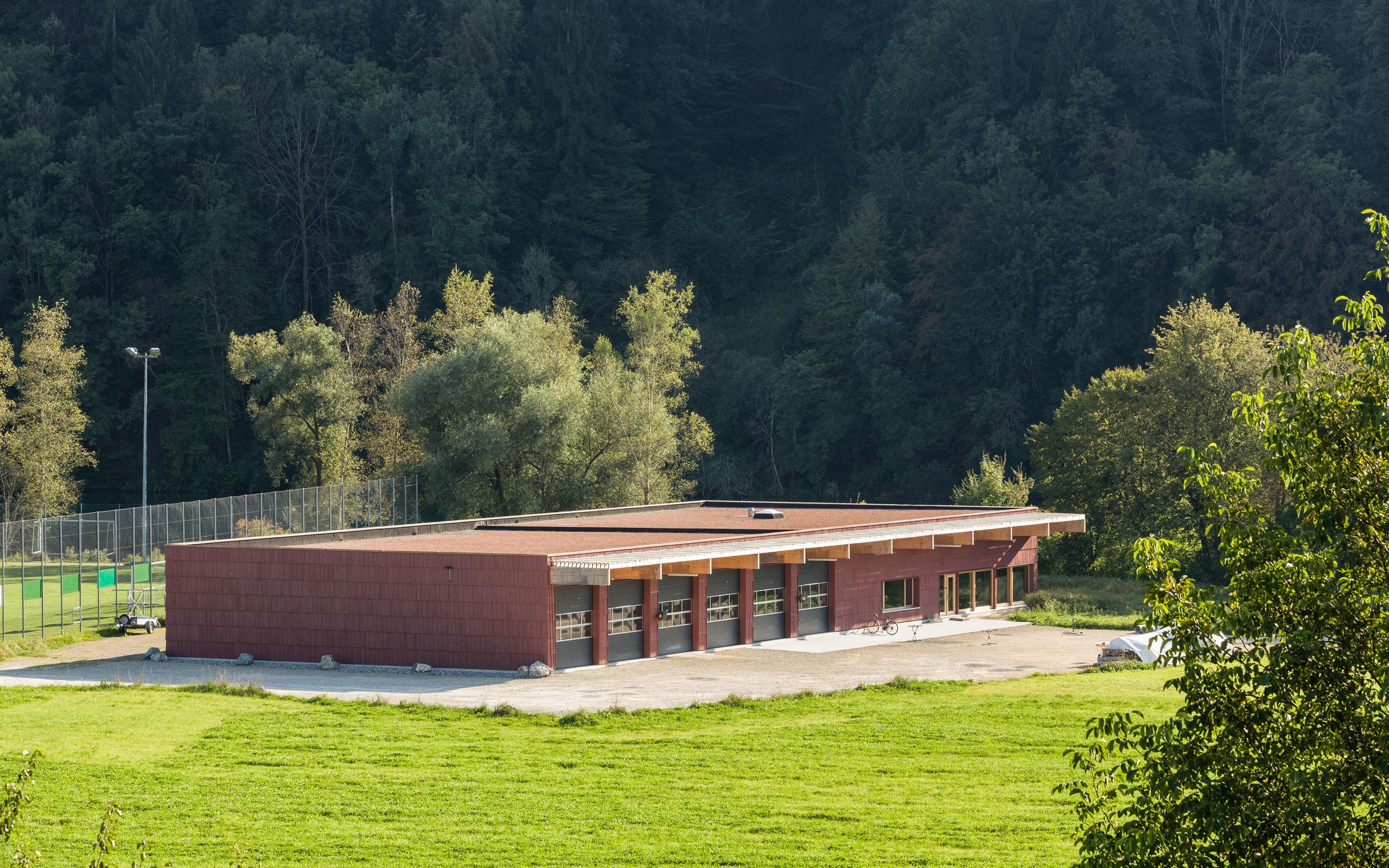 Architektur, sgparch.ch, Bootshaus Hinterkappelen