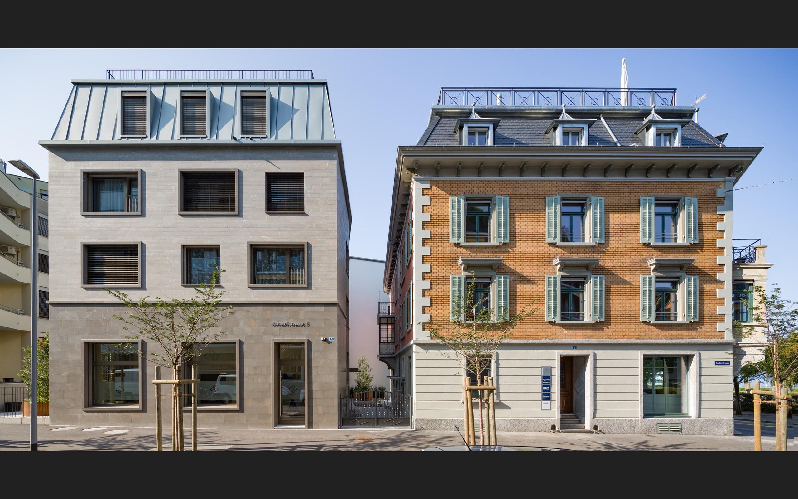 Architektur S+K Schenk, Zug