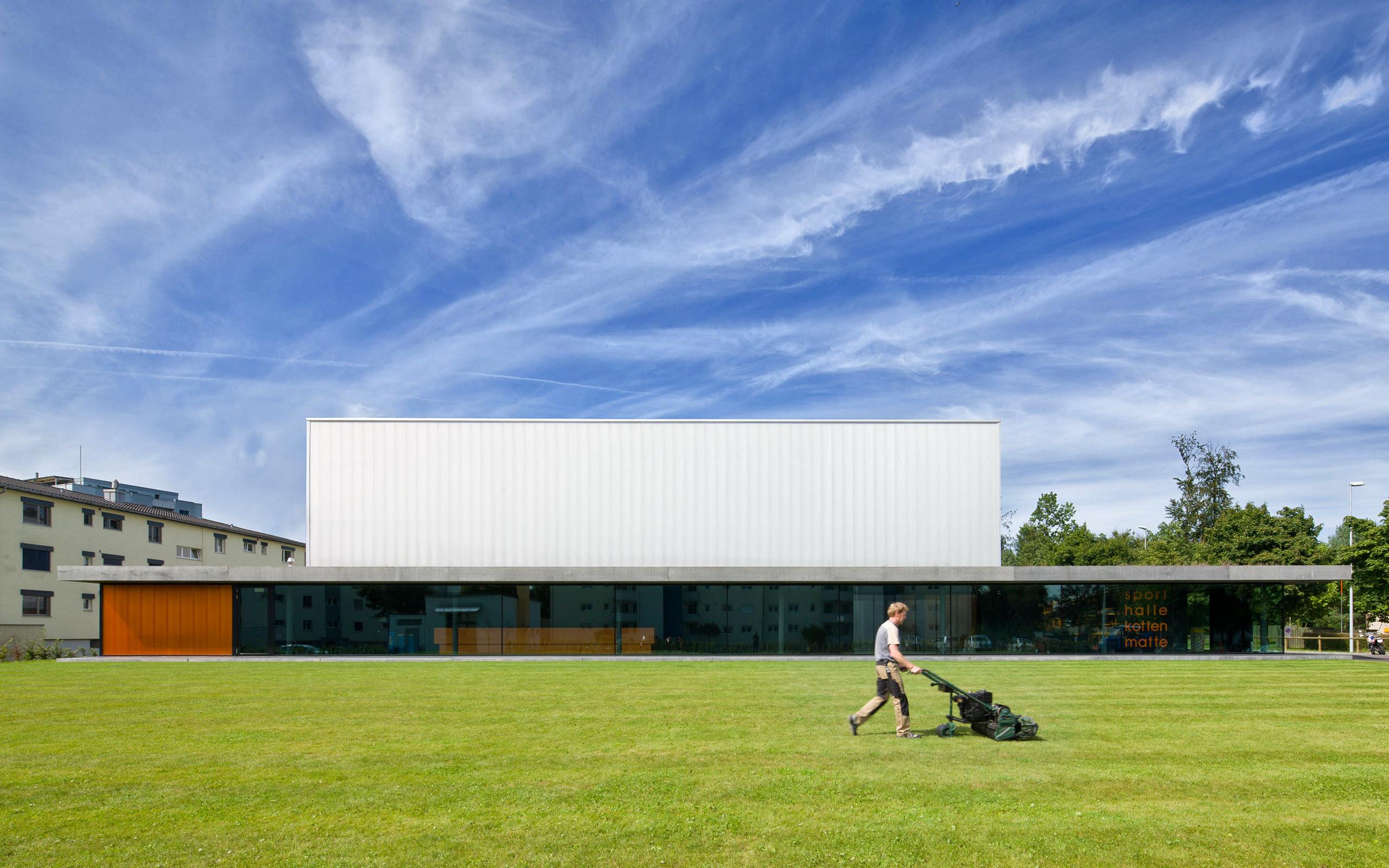 Architektur Müller-Verdan, Zürich, Sporthalle Kottenmatte, Sursee
